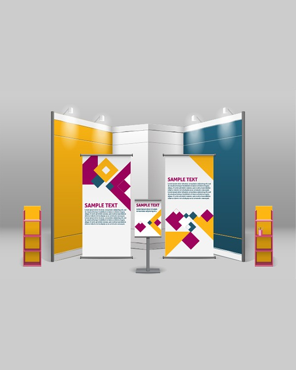 Custom trade show banners samples by Stryker Designs in Pflugerville, TX